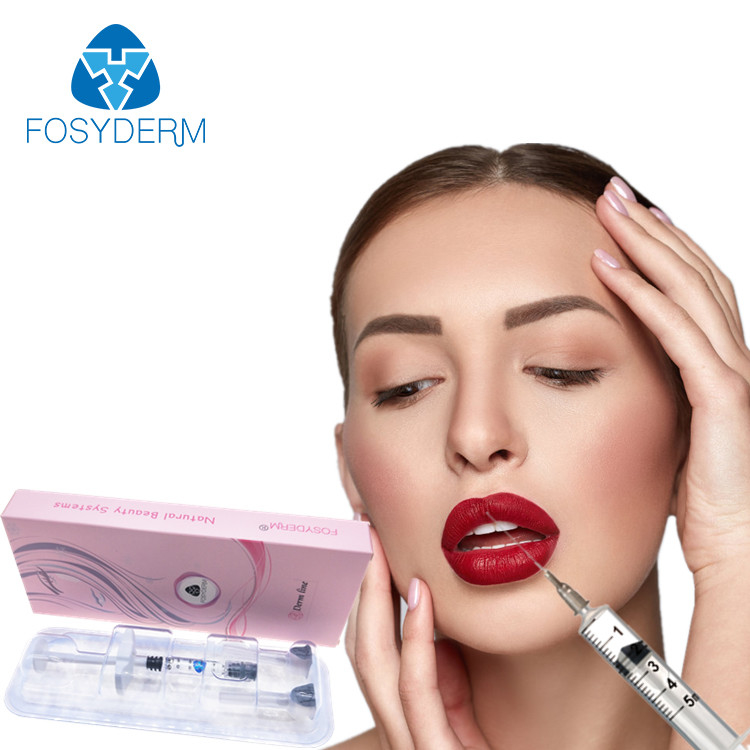 Injeção cutânea do ácido hialurónico do enchimento do bordo de Fosyderm 2ml Derm